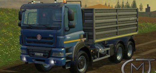 Грузовики для Мод грузовик TATRA 158 Phoenix 6×6 Agro для Farming Simulator 2015
