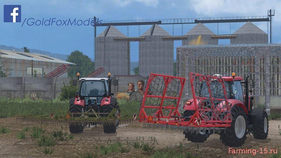 С/Х инвентарь для Мод навесные складывающиеся бороны для Farming Simulator 2015