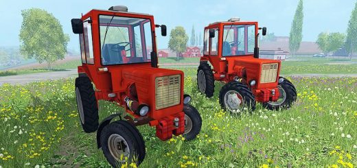 Русская техника для Мод-пак тракторов Т-25А и Т-30А для Farming Simulator 2015