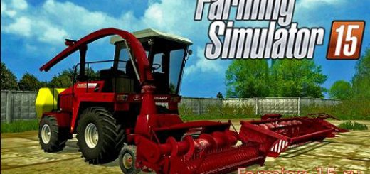 Русская техника для Мод комбайн УЭС-2-250 для Farming Simulator 2015