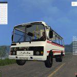 Мод автобус ПАЗ 32053 для Farming Simulator 2015