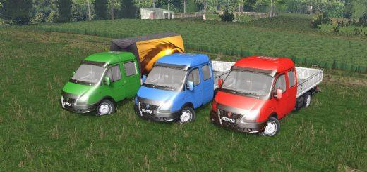 Русская техника для Мод машина ГАЗ 3310 Валдай для Farming Simulator 2015
