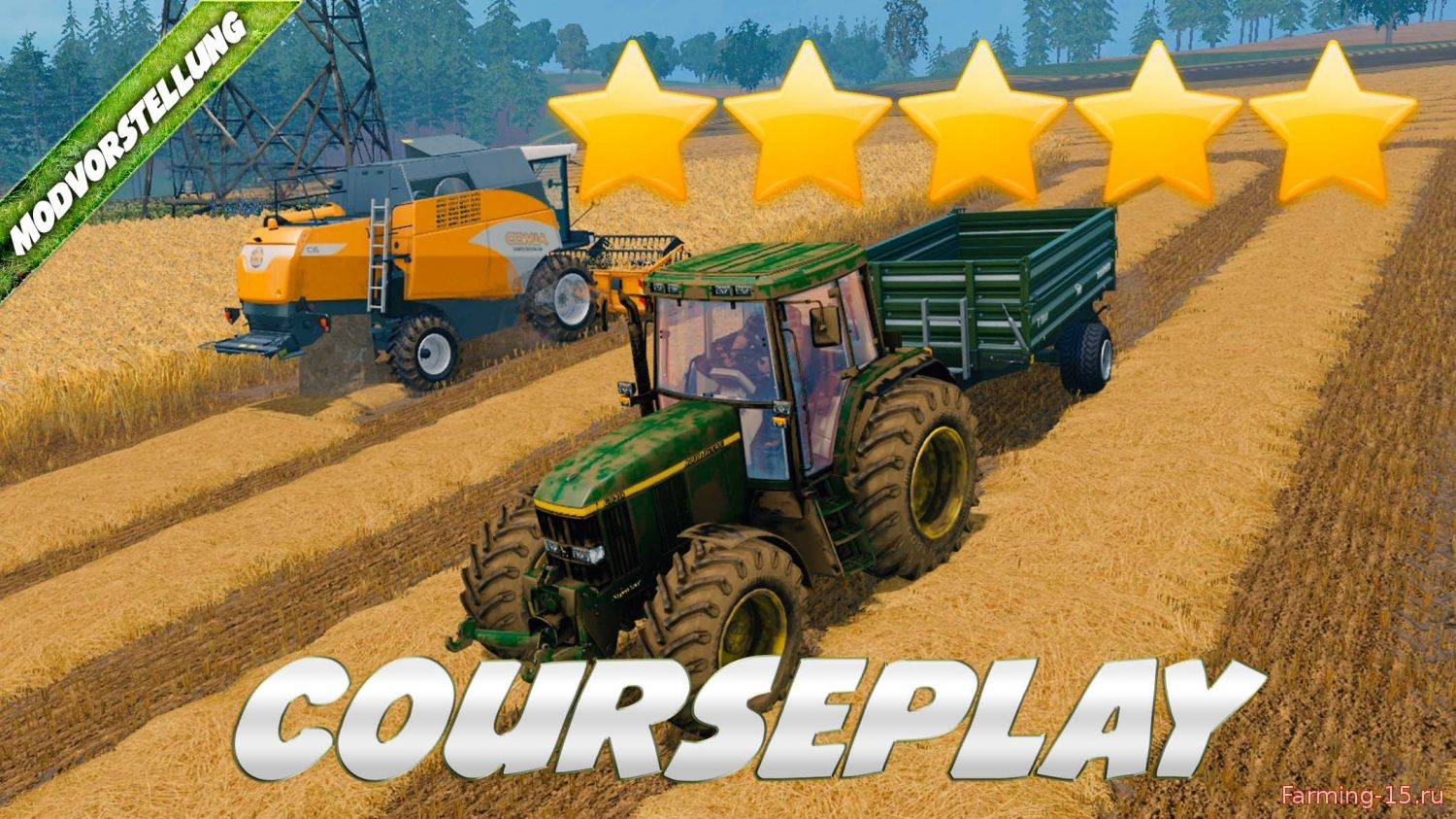 Другие моды для Мод Courseplay V4.01 для Farming Simulator 2015