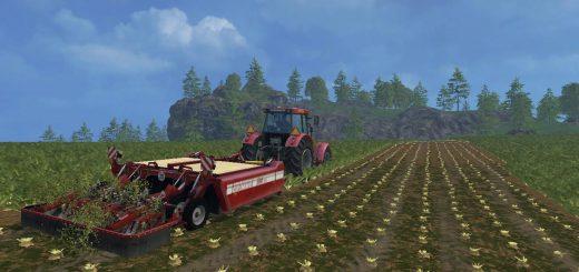 С/Х инвентарь для Мод прицепной ботвоудалитель для сахарной свеклы для Farming Simulator 2015