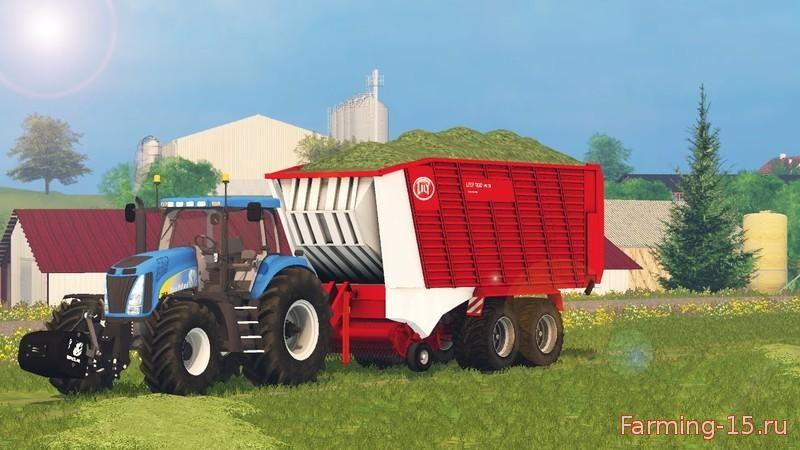 Прицепы для Мод прицеп Lely Tigo PR 70 для Farming Simulator 2015