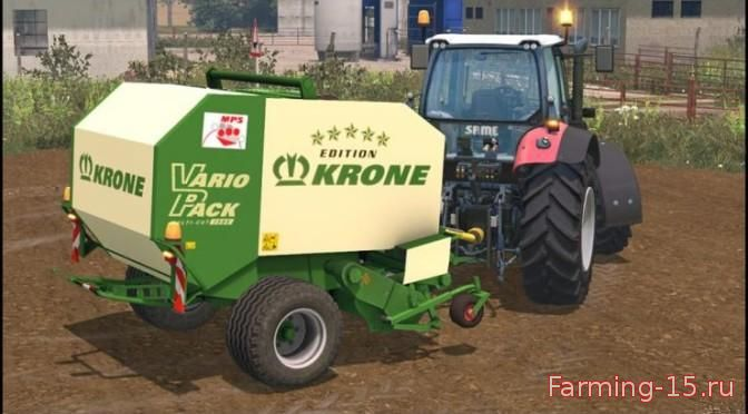 С/Х инвентарь для Мод тюкопресс круглых тюков для Farming Simulator 2015