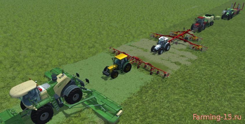 Другие моды для Мод Конвой (Follow Me) для Farming Simulator 2015