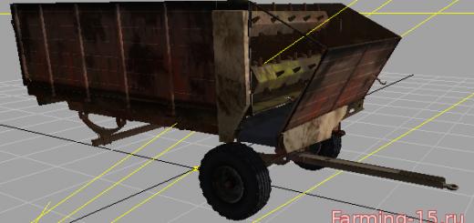 С/Х инвентарь для Мод прицеп-кормораздатчик КТУ-10 для Farming Simulator 2015