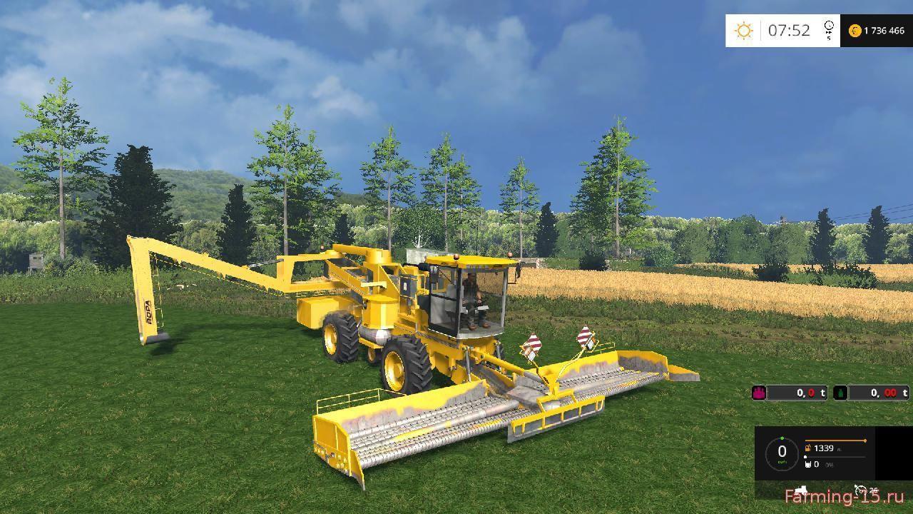 С/Х инвентарь для Мод самоходный погрузчик картофеля и сахарной свеклы для Farming Simulator 2015