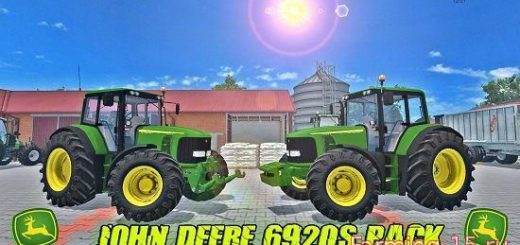 Тракторы для Мод трактор John Deere 6920S для Farming Simulator 2015