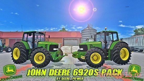 Тракторы для Мод трактор John Deere 6920S для Farming Simulator 2015