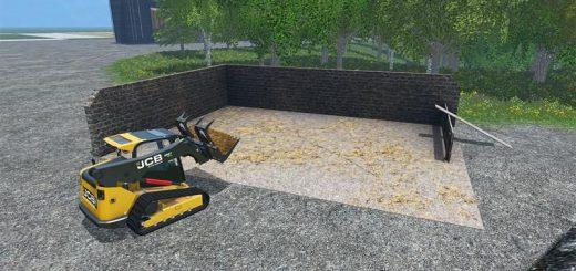 Объекты для карт для Мод хранилища для навоза для Farming Simulator 2015