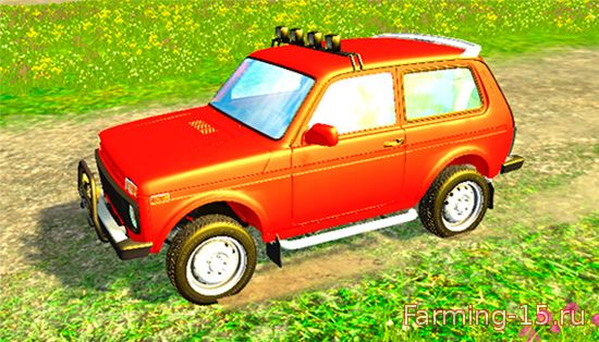 Русская техника для Мод машина «ВАЗ 2121 НИВА V2.0» для Farming Simulator 2015