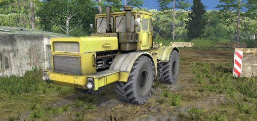 Русская техника для Мод трактор Кировец К700А v1.0 для Farming Simulator 2015