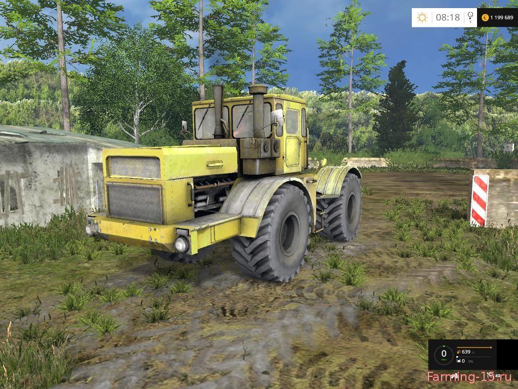 Русская техника для Мод трактор Кировец К700А v1.0 для Farming Simulator 2015