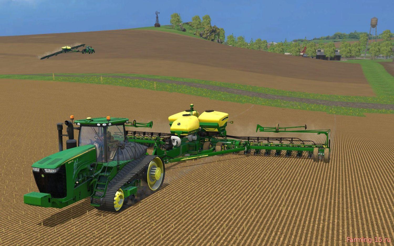 Тракторы для Мод гусеничный трактор «John Deere 9560RT v1.0» для Farming Simulator 2015