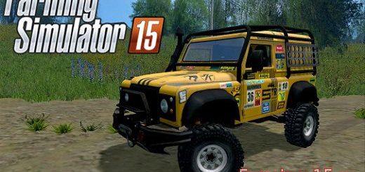 Машины для Мод машина Land Rover Defender Dakar V 2.0 для Farming Simulator 2015