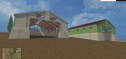 Объекты для карт для Скачать ангар и гараж для Farming Simulator 2015