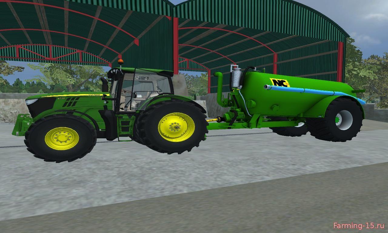 Техника для удобрений для Мод бочка для внесения жижи для Farming Simulator 2015