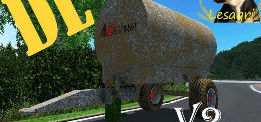 Цистерны для Мод бочка для транспортировки воды для Farming Simulator 2015
