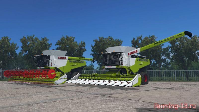 Комбайны для Мод-пак Claas Lexion 770 TT для Farming Simulator 2015