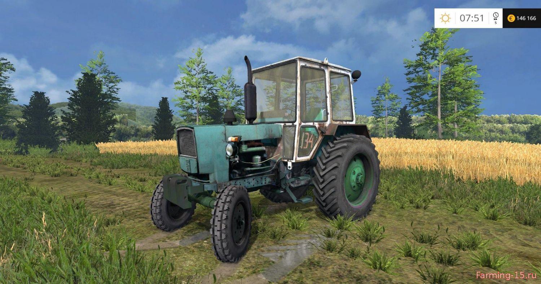 Русская техника для Мод трактор ЮМЗ 6КЛ v2.0 для Farming Simulator 2015
