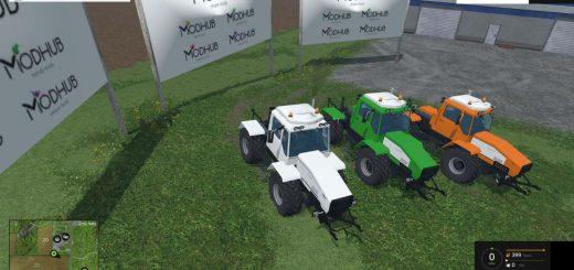 Русская техника для Мод трактор ХТА-220-2 v1 Слобожанец для Farming Simulator 2015