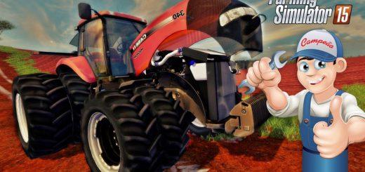 Тракторы для Мод трактор Case Magnum 340 BR v1.0 для Farming Simulator 2015