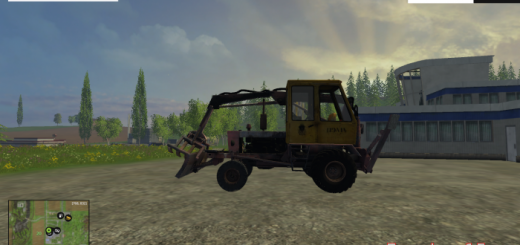 Русская техника для Мод трактор ПЭА-1А «Карпатец» для Farming Simulator 2015