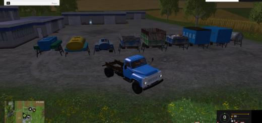 Русская техника для Мод-пак ГАЗ 52 СССР v3.0 для Farming Simulator 2015