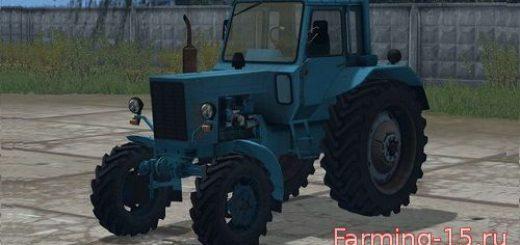 Русская техника для Мод трактор МТЗ 80 v4.0 для Farming Simulator 2015