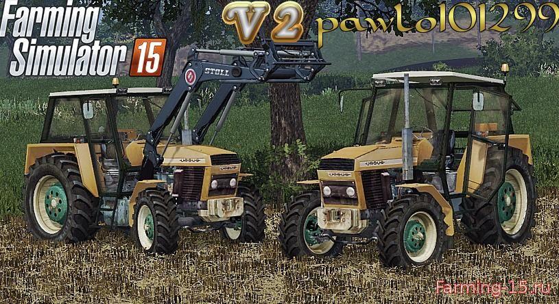 Тракторы для Мод трактор Ursus 914 V2 для Farming Simulator 2015