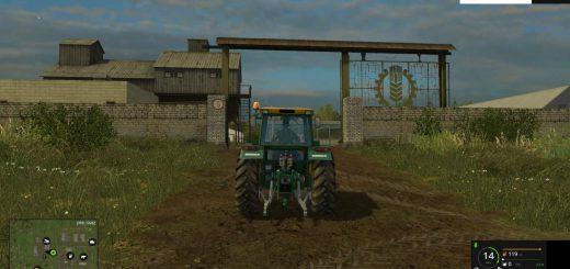 Русские карты для Карта Средняя Полоса России для Farming Simulator 2015