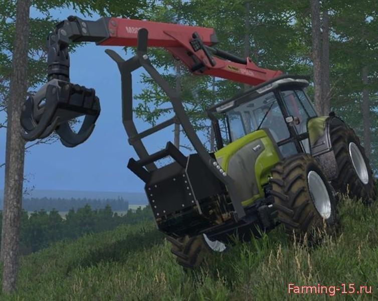 Погрузчики для Мод трактор Valtra T140 для Farming Simulator 2015