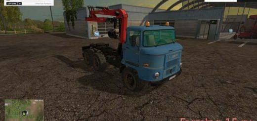 Русская техника для Мод погрузчик ИФА Л60 для Farming Simulator 2015