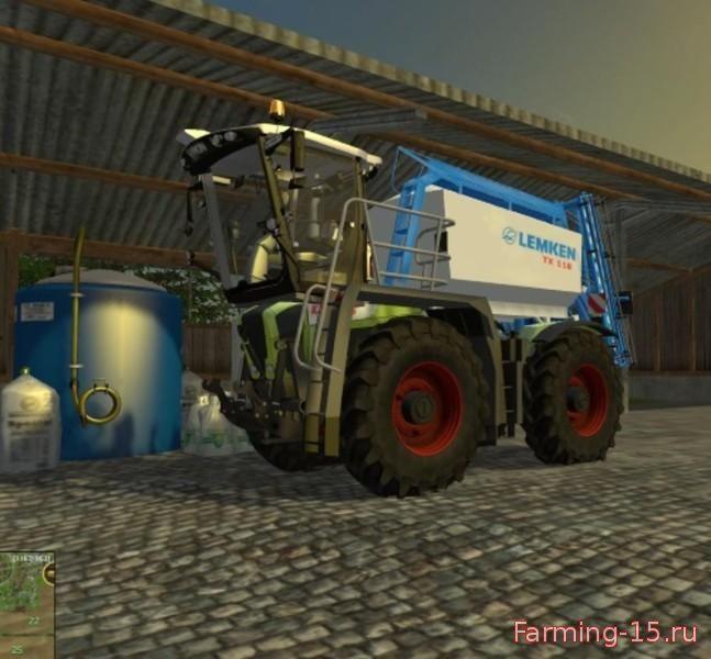 С/Х инвентарь для Мод модульный опрыскиватель Lemken essay syringe v1.0 для Farming Simulator 2015