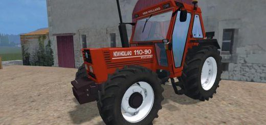 Тракторы для Мод трактор New Holland 110-90 DT v2.0 для Farming Simulator 2015