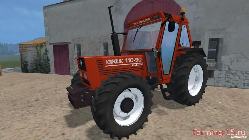 Тракторы для Мод трактор New Holland 110-90 DT v2.0 для Farming Simulator 2015