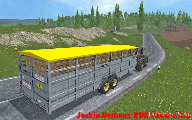 Прицепы для Мод прицеп Joskin Betimax RDS 7500 для Farming Simulator 2015