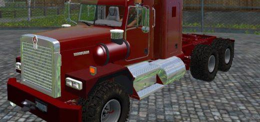 Грузовики для Мод тягач Kenworth C500 v1.0 для Farming Simulator 2015