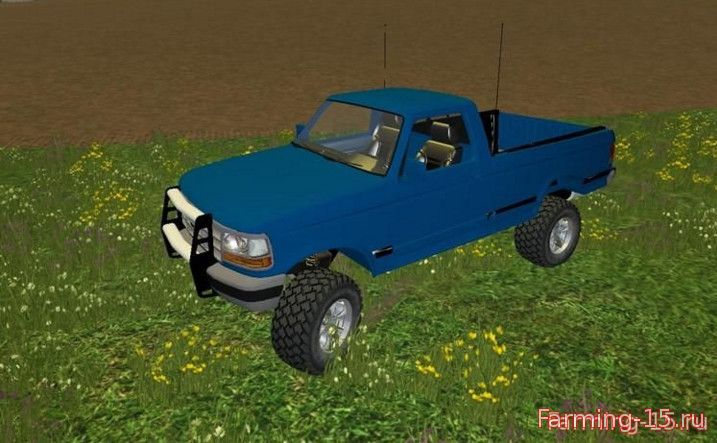 Машины для Мод машина Ford F1000 Brasil для Farming Simulator 2015