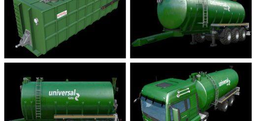 Цистерны для Мод-пак грузовик Kotte Universal для Farming Simulator 2015