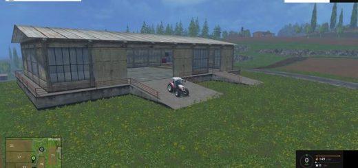 Объекты для карт для Скачать мод Гараж для Farming Simulator 2015