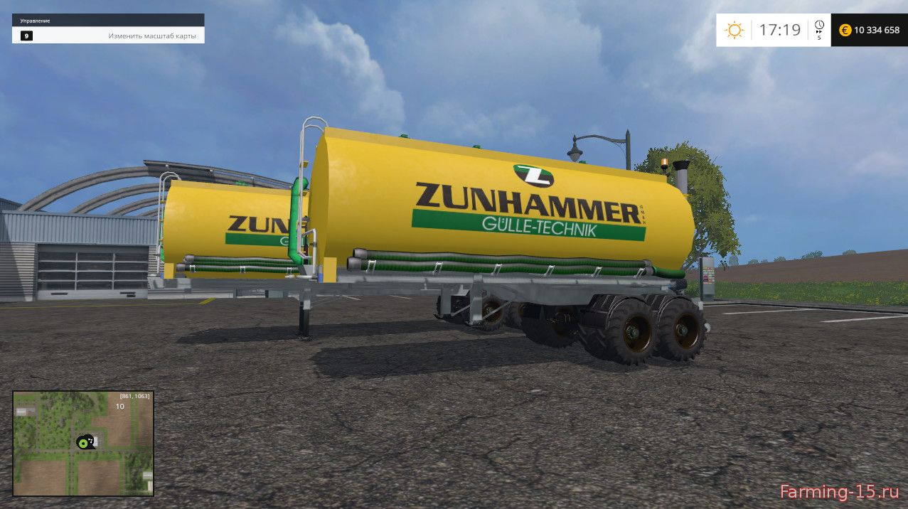 Цистерны для Мод две цистерны для Farming Simulator 2015