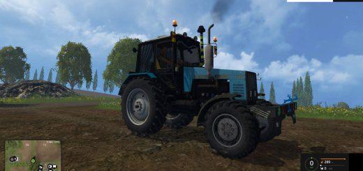 Русская техника для Мод трактор МТЗ 1221 для Farming Simulator 2015