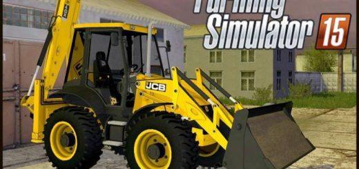Погрузчики для Мод экскаватор JCB 4CX для Farming Simulator 2015