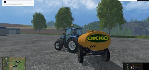 Цистерны для Мод цистерна Окко для Farming Simulator 2015