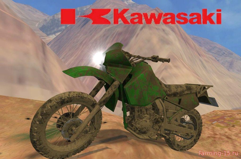 Другие моды для Мод мотоцикл Kawasaki KR650 v1 для Farming Simulator 2015