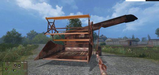 С/Х инвентарь для Мод прицепной силосный комбайн для Farming Simulator 2015