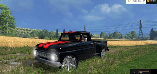 Машины для Мод машина Chevy C10 для Farming Simulator 2015